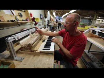 Inside the Steinway Factory: Action Regulation