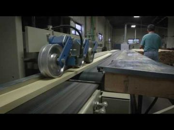 Inside the New York Steinway Factory: The Crosscut Department