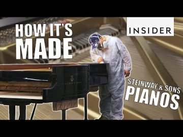 How Steinway & Sons Pianos are Made - Business Insider